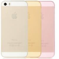 倍思 iphone5s 手机壳苹果iphone se透明 硅胶软壳 iphone5 防摔 边框 全包 保护套新款