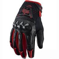 斑驳黑色越野手套 摩托车赛车手套 骑士碳纤手套