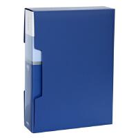 得力文具(deli)5006 资料册 A4 文件册80页办公用品 插页夹资料夹文件夹