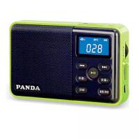 【当当自营】 熊猫/PANDA DS-131 数码音响播放器 插卡音箱 立体声收音机 绿色