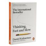 快思慢想英文原版 Thinking,Fast and Slow 思考快与慢 丹尼尔卡尼曼