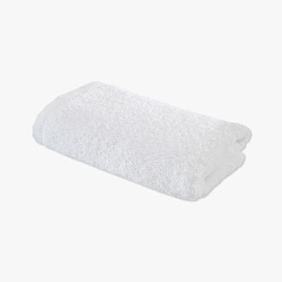 当当优品 酒店系列全棉面巾 印度长绒棉毛巾 35x75 王子白当当自营 印度长绒棉 柔软厚实