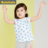 巴拉巴拉女童上衣小童宝宝短袖t恤童装夏装儿童T恤女