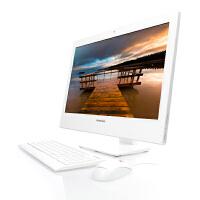 联想扬天一体台式电脑S800-00(白色),24寸液晶显示器 联想一体机 联想一体电脑 内置Wifi无线/摄像头 扬天一体台式机新上市