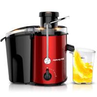 【当当自营】九阳榨汁机 JYZ-D52 家用 低速 多功能 大口径 果汁机 料理机 搅拌机