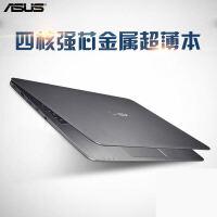 华硕(ASUS)E403NA3450 14英寸金属超薄笔记本电脑(N3450/4G/128GSSD Win10)