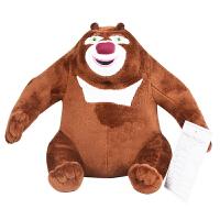 多多堡 熊出没熊大 毛绒玩具 拍打唱歌玩具 DJB-309