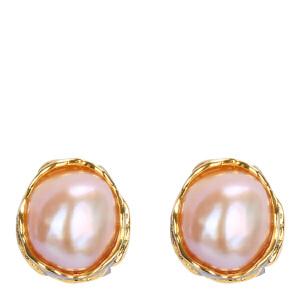 戴和美珠宝首饰耳饰 精选珍珠异形耳钉