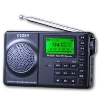 Degen/德劲 DE1129 数字调频 全波段 4G内存/老人便携插卡 音箱 收音机