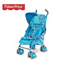 【当当自营】费雪Fisher Price婴儿手推车可坐可躺网伞儿童车万向轮轻便折叠手推车宝宝夏季160 蓝色