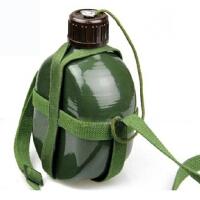 87军绿色水壶老式军训水壶野营居家十字帆布水壶特种兵战术军用水壶军迷户外旅游大容量水壶