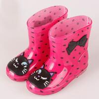 物有物语 雨鞋 成人韩版时尚雨鞋四季通用果冻平底低帮雨靴胶鞋防水防滑水鞋学生女户外短筒雨具雨鞋