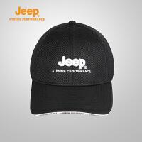 【全场2.5折起】Jeep/吉普 17春夏跑步骑行轻便舒适透气男女户外运动帽J670061831