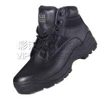 户外特种兵男军靴 07双密度作战靴 户外军勾靴 男士防火防刺防燃靴军靴