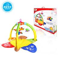 骅威益智婴幼早教宝宝玩具婴儿游戏垫健身架爬行垫爬爬垫3057