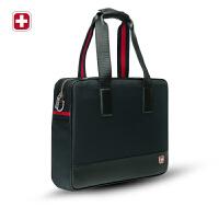 瑞士军刀时尚商务男包真皮休闲手提包斜挎包手拎包BM050722