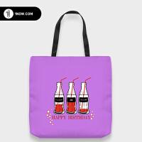 「玩闹智造」原创设计可口可乐个性帆布tote包环保袋潮包邮