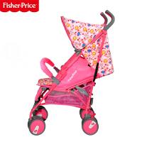 【当当自营】费雪Fisher Price婴儿手推车可坐可躺网伞儿童车万向轮轻便折叠手推车宝宝夏季160 粉色