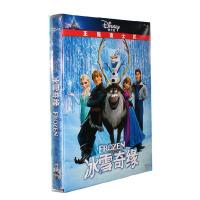 Frozen冰雪奇缘 迪士尼高清电影动画片dvd光盘碟片 国英双语