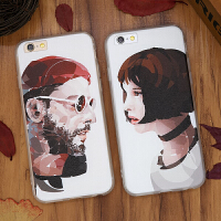 情侣苹果iPhone6手机壳Plus保护套6S全包防摔5.5S磨砂软外壳4.7潮