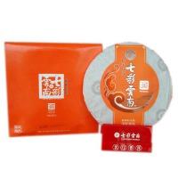"""[当当自营]七彩云南普洱茶 """"润""""系列生饼357g"""