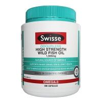 【当当海外购】澳大利亚Swisse 深海鱼油欧米茄3软胶囊1500mg 400粒