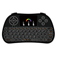 ikodoo爱酷多 通用型带触控遥控空中飞鼠无线迷你键盘 适合安卓系统/机顶盒/智能电视