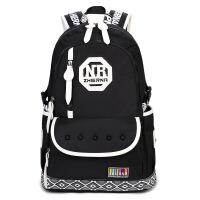 双肩背包男士背包韩版大容量旅行休闲电脑包潮 高中学生书包