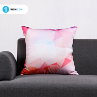 「玩闹智造」原创手绘艺术《多边形系列二》个性创意抱枕办公室沙发靠垫包邮