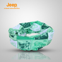 【全场2.5折起】Jeep/吉普 户外运动百变魔术头巾男女骑行防晒面罩J660161147