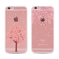 【全国包邮】hidog 苹果iPhone6手机壳全包透明浮雕6s plus保护套软硅胶防摔女