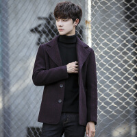2014秋冬新款韩版修身风衣风衣中长款男士风衣休闲时尚男士外套