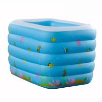 充气水池儿童游泳池加厚超大洗澡盆充气泳池婴儿戏水池婴儿游泳池儿童戏水池