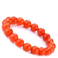 戴和美 精选天然南红玛瑙樱桃红手链(附鉴定证书)