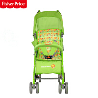 【当当自营】费雪Fisher Price婴儿手推车可坐可躺网伞儿童车万向轮轻便折叠手推车宝宝夏季160 绿色