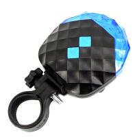自行车钻石激光尾灯 装备配件 满天星安全警灯