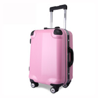 2016inannaPC拉杆箱24寸万向轮铝框箱韩版可爱箱旅行箱托运箱行李箱登机箱子密码箱万向轮