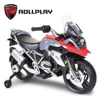 ROLLPLAY如雷儿童电动摩托车充电电瓶车小孩玩具车可坐人宝宝童车