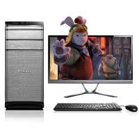 联想(Lenovo)锋行K450e 23英寸高清台式电脑整机 i5-4460 8G内存 1T硬盘 GTX750 2G独显 DVD刻录 黑色