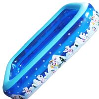 新生儿婴幼儿儿童二环长方水池游泳池洗澡盆 家庭休闲充气产品四季适用安全健康环保更贴心