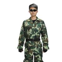 2015户外军迷装备休闲简约05消防数码迷彩服 丛林野战服作训服