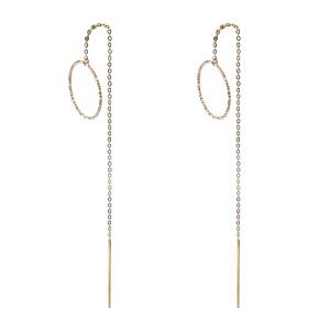 戴和美珠宝首饰耳饰 精选14K金时尚耳环