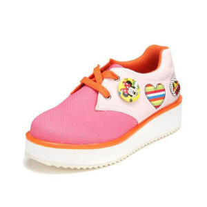 鞋柜SHOEBOX 大童 女童鞋 秋款舒适休闲鞋平底舒适女单鞋