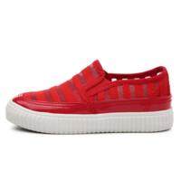 回力夏季新款童鞋一脚蹬透气网鞋休闲学生鞋网布运动鞋