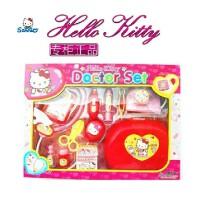 六一礼物正品HELLO KITTY 凯蒂猫医生套装女孩过家家角色扮演玩具