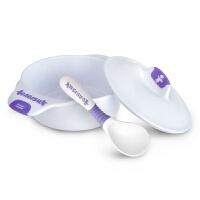 【当当自营】BABISIL贝儿欣 宝宝学习餐具训练套装(天使碗+扭扭勺)