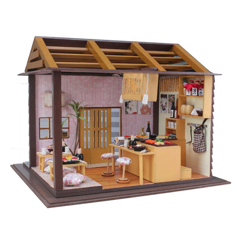 拼装模型小房子