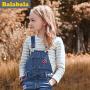 【6.26巴拉巴拉超级品牌日】巴拉巴拉童装女童长袖T恤中大童上衣2016春秋装新款儿童条纹T恤女