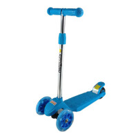 休闲娱乐益智送飘带脚踏三轮儿童折叠冲浪式闪光折叠踏板车滑板车踏板车童车 轮滑滑板
