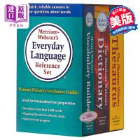 韦氏英语字典3本套装 2016年新版 英文原版词典 Merriam-Webster's进口正版